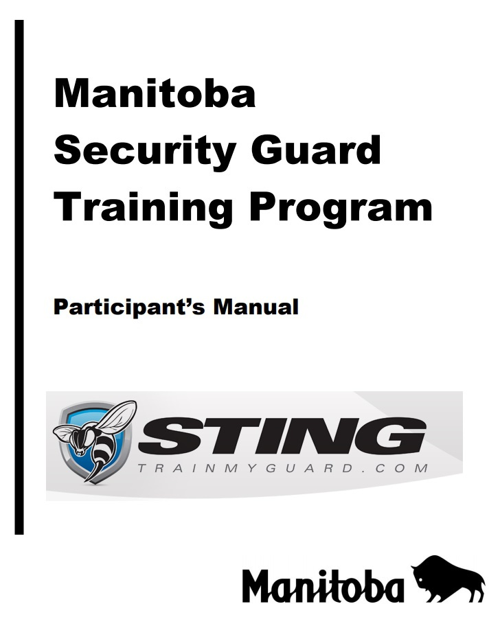 Manitoba Security Manual